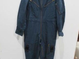Blue Combat Coveralls   Size Medium Regular