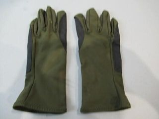 As Is Pair Green Gloves Size Small Medium