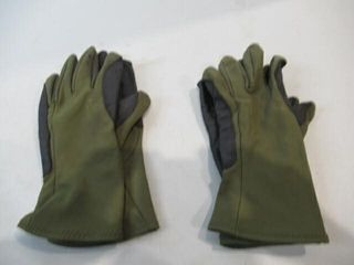 2  As Is Pairs Green Gloves Size Medium