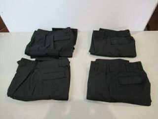 4  Pairs Mens Naval Combat Pants Size Small Short