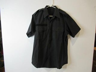 Mens Short Sleeve Naval Combat Shirt Size 15 1 2