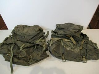 2  As Is Army Ruck Sacks