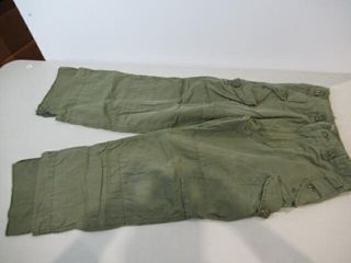 2  OD Green Combat Pants Size X Small Short