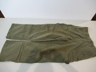 2  OD Green Combat Pants Size Regular Small