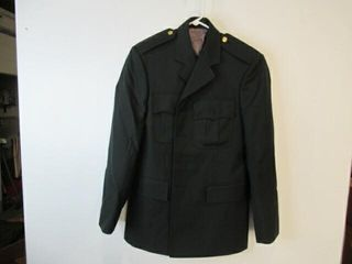 Mens Green Dress Jacket Size Small Regular