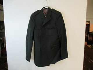 Mens Green Dress Jacket Size Small Tall