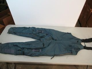 Flyers Blue Insulated Overalls Size Small Regular
