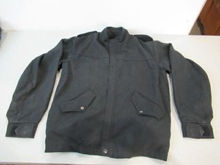 Mens Black Naval Combat Jacket Size Small Regular
