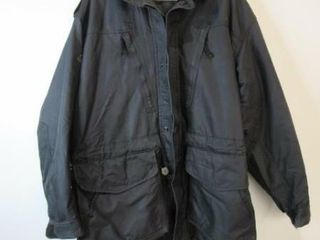 As Is Black Naval Parka Sizelarge Regular