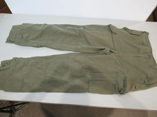 OD Green Combat Pants Size Small Tall