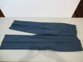 Mens Blue Dress Pants Size Small Regular