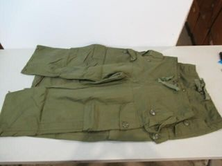 2 Pair ECW Windproof Combat Pants Size 1 Short Sm
