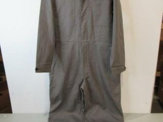 Grey Work Coveralls Size Medium Tall