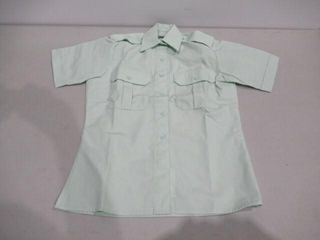 Womens Short Sleeve Dress Shirt Size 6M