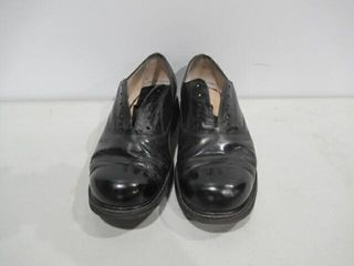 Black Mens Dress Shoes Approx Size 7