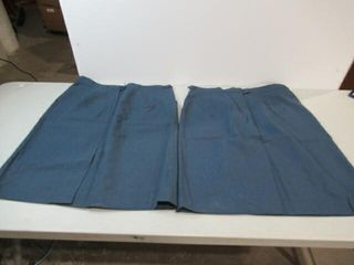 2  Womens Blue Dress Skirt Size H46 1 2