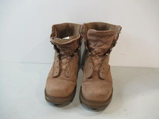 Combat Boots  Not Weather Brown Size 9 1 2
