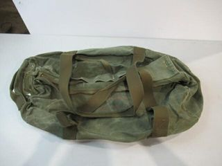 Green Army Dufflebag Approx 30  long