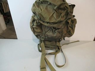 As Is Steel Framed Army Backpack