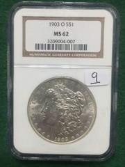 1903-O NGC MS62 Morgan Silver Dollar
