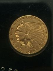 1914-D Gold $2.5 Coin