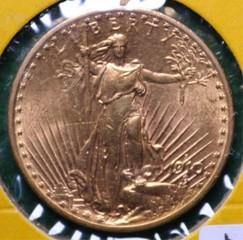 1910-S Gold $20 Saint Gaudens U.S. Coin