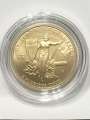 2001 Gold $5 Comm. Medal of Honor Coin