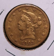 1903-S Gold $10 Liberty U.S. Coin