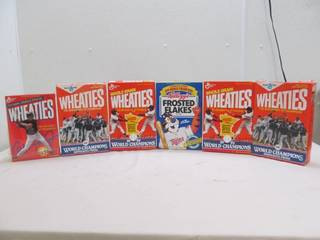 collector cereal boxes