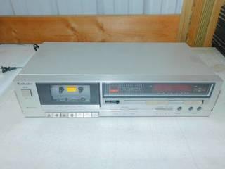 Vintage Technics Stereo Cassette Tape Deck