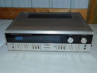 Vintage Sherwood 4 Channel Stereo Receiver