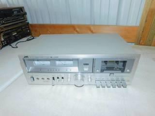 Vintage JVC KD-55 Stereo Cassette Deck Super ANRS