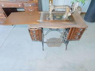 Vintage The Bartlett Treadle Sewing Machine