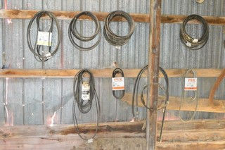 Assorted Belts & Hyd. Hose