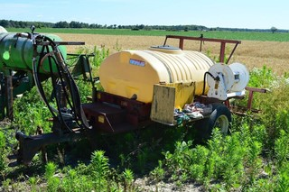 Agro-Trend Sprayer with 6ft Center Boom,