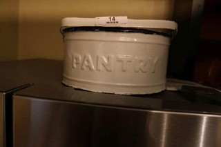 Enameled Pantry Box With Handle