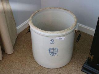 8 Gallon Uhl Pottery Crock