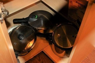 Two Pressure Cookers And Electric Skillet