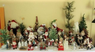 Large Collection of Christmas Collectibles