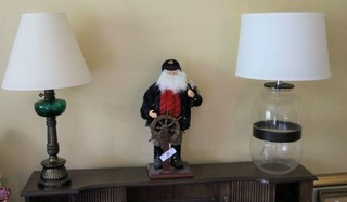 Two Lamps, Santa, And Miscellaneous Books