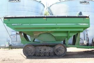 2010 BRENT 2082 Tracked Grain Cart