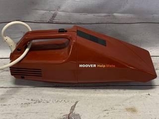 Vintage Hoover S1071 Help Mate Hand Vacuum (works great)