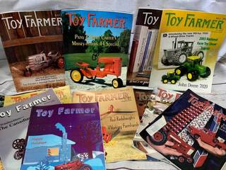 Lot of 12 Toy Farmer Magazine