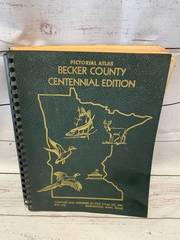 Vintage Becker County Pictorial Atlas (hundreds of pages)