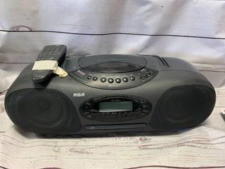 RCA Boombox RP-7977A with CD Player ($175 on Ebay)