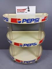 Vintage Pepsi Shelf