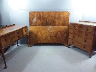 Vintage Tiger Eye Bedroom Furniture