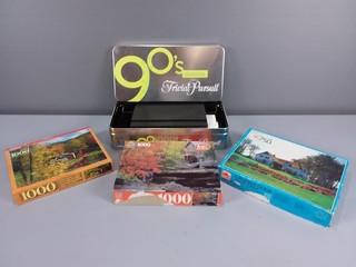 Trivial Pursuit 90's & Puzzles