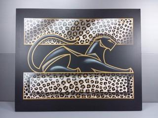 Paulson Jaguar Canvas Print