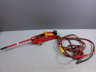 Floor Jack & Battery Charger Cables